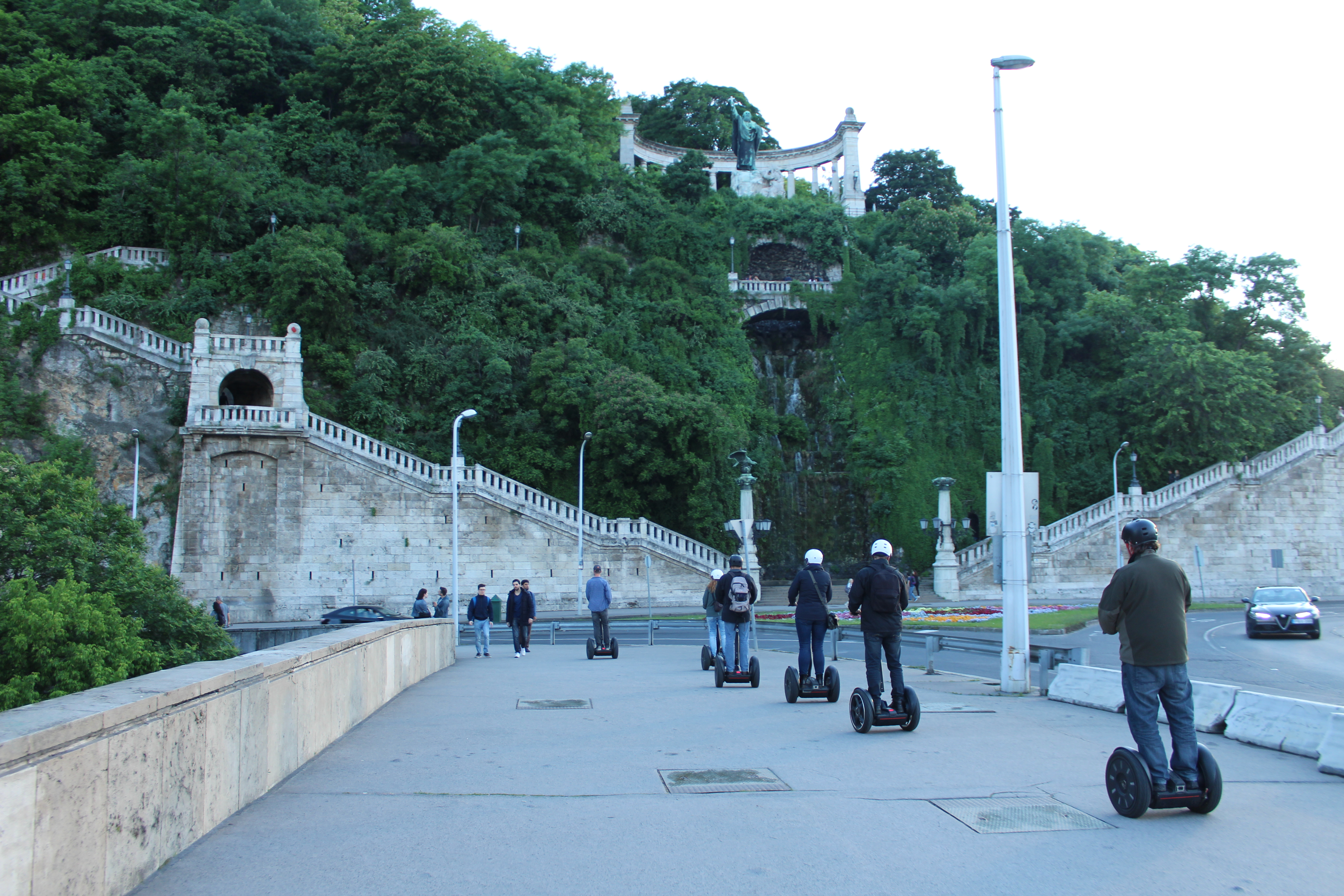 Gellert Waterfall Segway Tour