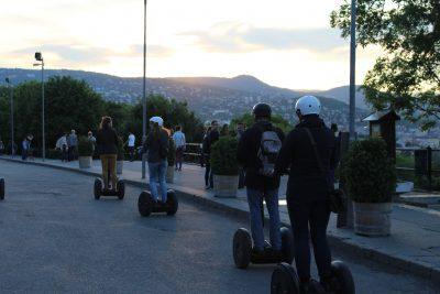 Segway Tour Sunset Budapest