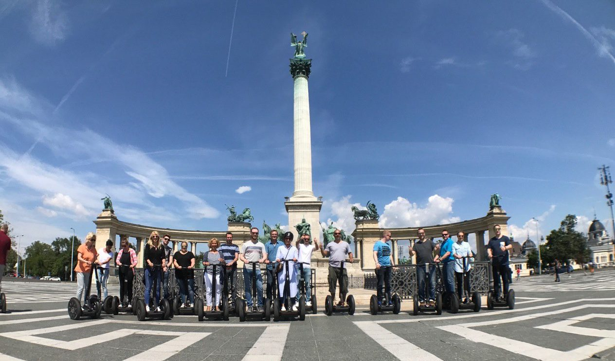 Segway Group Tour Heroes Square