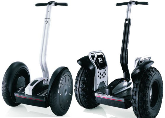 second generation segway i2 and x2