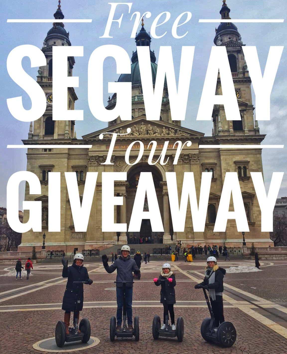 free segway tour giveaway