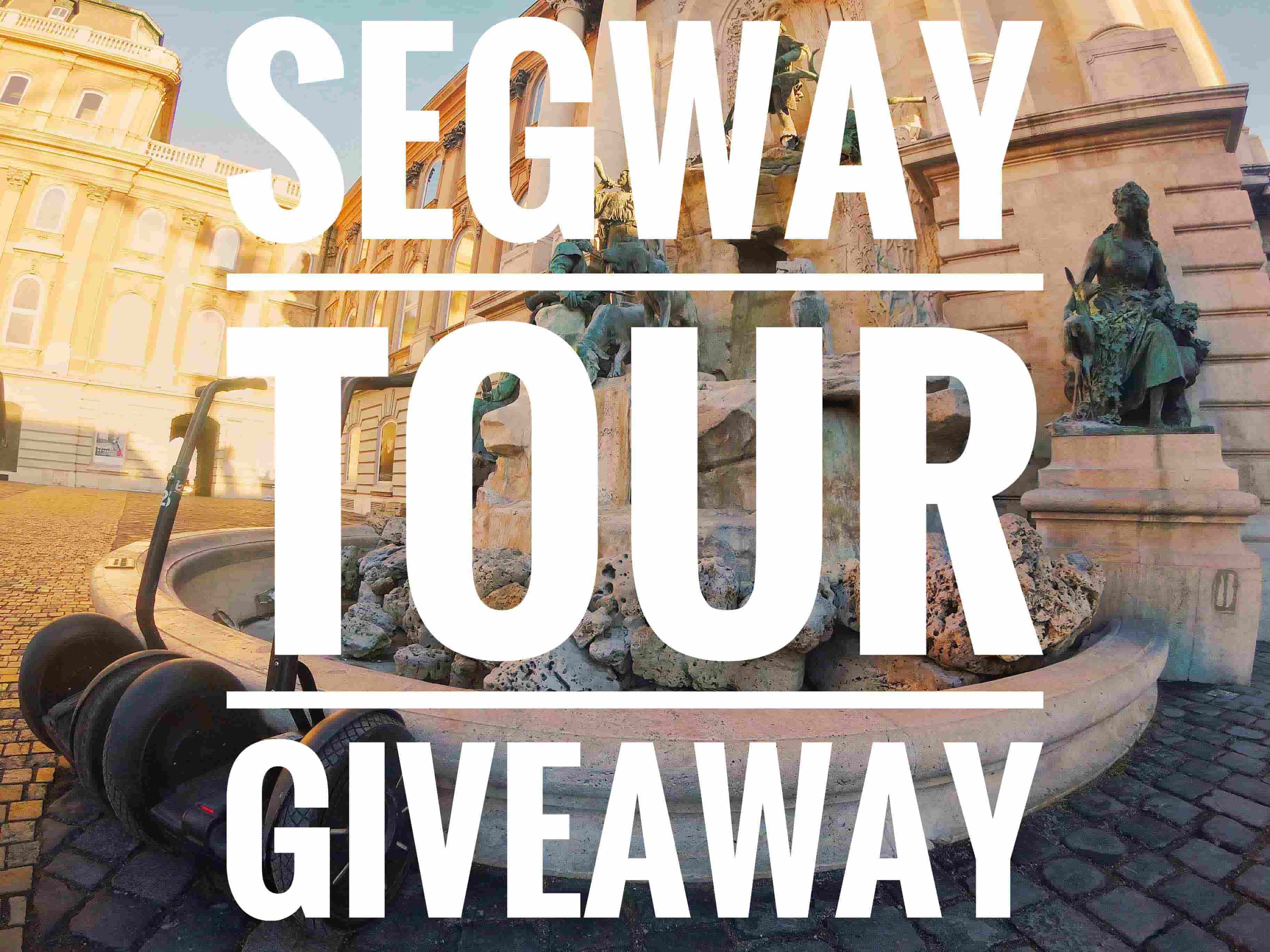 free segway tour budapest giveaway